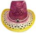 Cow Boys - Cow Girls Rodeo Western STRAW HAT Style