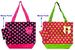 ''Polka Dots'' 2 Pc TOTE BAG & Money Purse Set