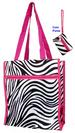 ''Zebra Prints''  2Pc TOTE BAG & Money Purse Set