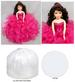''Princess'' Quinceanera - Sweet 16 - Anniversary Porcelain Doll