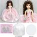 Quinceanera  Porcelain Doll - Height: 16'' - Pink