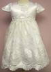 Girls White Pageant DRESS Embellished With Gemstones (6Mos-30Mos)