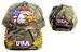 USA Embroidered Camouflage BALL CAPs ......  Eagle & Flag