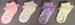 Girls  Fancy  Laced  DRESS Socks   ( # GNS 2032/9335)