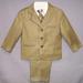 5Pc Boys  DRESS Suit  - Olive Color - Sizes: 5-7  ( # 5956-O)