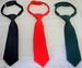 Boys Adjustable Neckties In Solid Colors  (Size: 4-7)