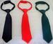 Boys Adjustable Neckties In Solid Colors  (Size: 8-14)