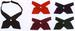 Cross Ties For Girls - In Solid Colors