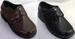 Boys Brown DRESS Shoes With Velcro - Sizes: 5  - 10  ( # K-12502)