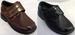 Boys DRESS Shoes With Velcro -  Sizes: 11-4 ( # K12502D)