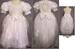 2Pc Girls  Long Formal  White  DRESS - Sizes: 5 Thru 10