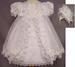 Girls Designer Christening DRESS With Cape & Bonnet