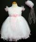 Girls Embroidered  Pageant DRESS & Hat  - Pink (9Mos - 3T)