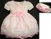 ''Whispers'' Girls Pageant DRESS With Hat - Pink Color  ( # 542)