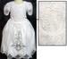 Designer Style White Flower Girls DRESSes - Sizes: 7 - 16
