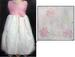 Girls Party DRESS In Embroidered Organza (Sizes: 2-8)