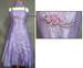 ''Evana II'' Girls Fancy DRESS With Scarf - Lavender  (Sizes: 4-14)