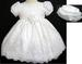 ''Whispers'' Girls Pageant  DRESS With Hat - White (Infant) # 590