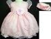 ''Whispers'' Girls Pageant DRESS With Hat - Pink ( Infant)  # 545