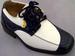 Boys DRESS Shoes - 2Tone Beige & Blue