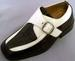 Boys DRESS Shoes - 2Tone Beige & Brown