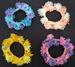 HAIR ACCESSORIES - Floral Pony Tail Holders (#SC-18150-AS)