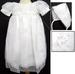 Girls Embellished Christening DRESS With Hat