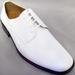 Mens Classic Tuxedo SHOES In Patent Leather - White Color