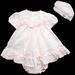''Baby Averyl'' 3Pc Poly/Cotton  DRESS - Sizes: Infant