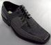 Boys Imitation Crocodile Leather SHOES - Silver Grey (Sizes: 11-4