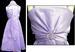 Girls Sleeveless Party DRESS With Rhinestones & Scarf.  Lavender