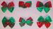 Girls  Hand-Made  Hairbows - CHRISTMAS Designs