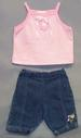 ''Baby Togs''  2Pc  Girls  Denim Sets  - NEW Born  ( # FU-2049)