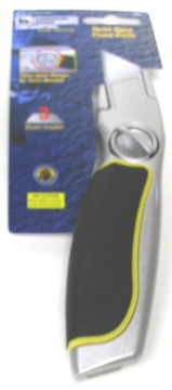 HARDWARE HOUSE H.D. CONTRACTORS TWIST OPEN UTILITY KNIFE. TOOLS