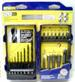 NEW ''IRWIN TOOLS'' 20-PC. DRILL/DRIVE SET WITH CASE, DRILL BITS