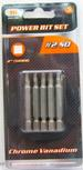 IIT TOOLS 5-PC. #2 SQUARE POWER BIT SET,DRILL