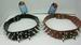 28'' SPIKED LEATHER DOG COLLAR