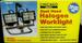 DUAL HEAD HALOGEN WORKLIGHT, 150 WATT PER LIGHT, TOOLS