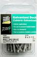 GALVANIZED DECK SCREWS #8 X 1-1/2'' QUANTITY 50