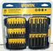 NEW IRWIN 30PC. SCREWGUN BIT SET WITH CASE. TOOLS