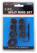 7 PC. SPLIT RING SET. AUTOMOTIVE TOOLS.