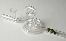 Glass Spiral Pipe MADE IN USA (on sale)