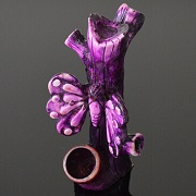 Hand Crafted FIGURINE Resin Smoking Pipe H-5''