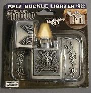 TATTOO Belt Buckle Lighter