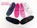 Closeout Women Breathable Flat SHOES with Lace Fushia
