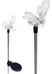 A pack of Two Bumble Bee Solar Garden Outdoor LED Lights