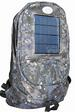Camouflage Blue Backpack and CELL PHONE Solar Charger
