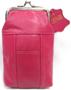 Soft Genuine LEATHER Cigarette Case Snap Top Fit 100mm Mix Color