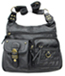 Classic Washed LEATHER Single Strap Shoulder Bag Cross Body Purse