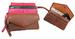 Butter Soft LEATHER Utility Pouch Holds Phone, Cash, Key & Cards